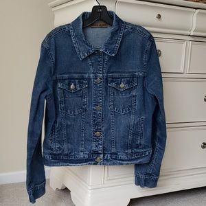 Jones New York Jean Jacket - Size 10